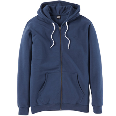 CLEPTOMANICX Hooded Zipper LIGULL II dark navy